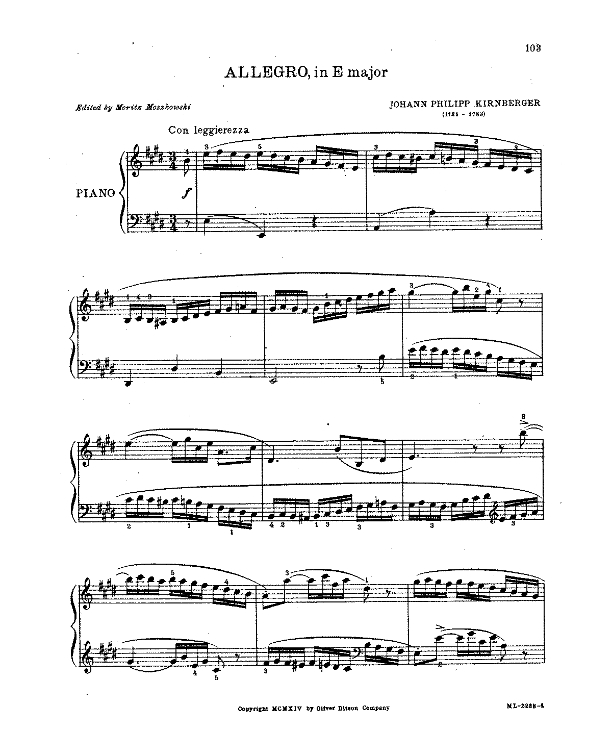 Kirnberger - Allegro in E.pdf