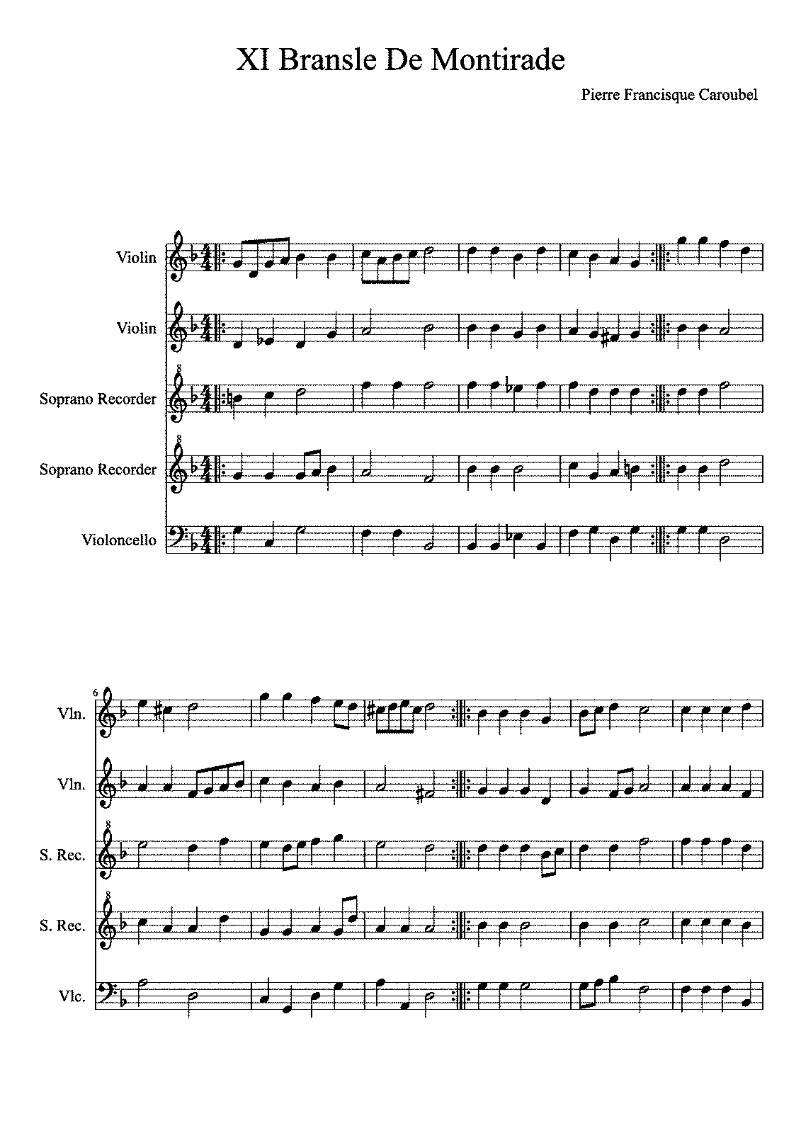 Everybody Wants To Be A Cat Sheet Music Carnavalsmusic