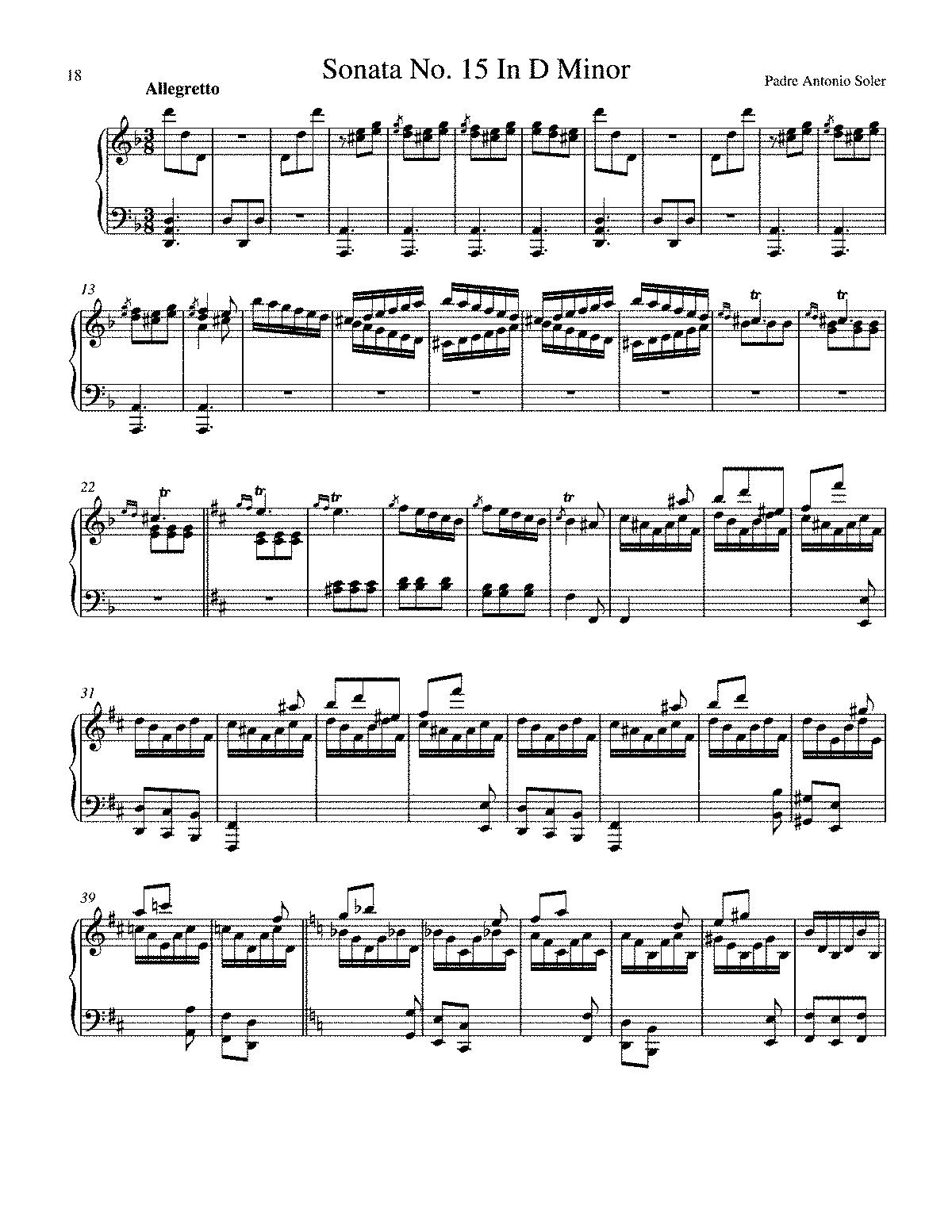 Keyboard sonata in d minor r15 soler antonio imslppetrucci arrangements and transcriptions hexwebz Choice Image