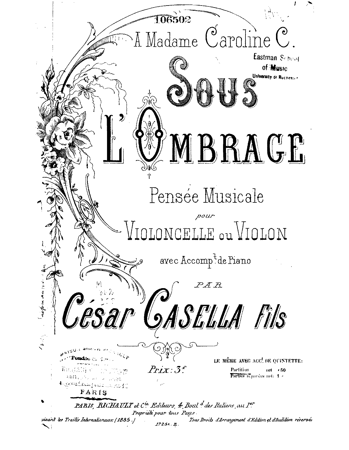 PMLP77627-Casella - Sous L'ombrage for Cello and strings score.pdf