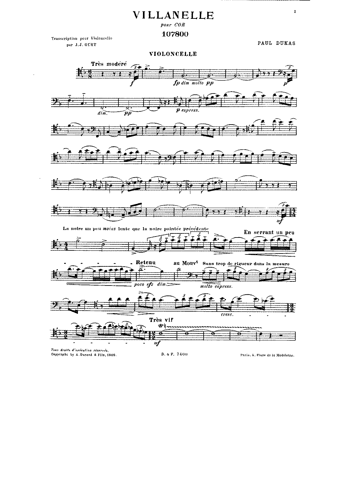 PMLP07492-Dukas - Villanelle for Cello (or Horn) and Orch (Gurt) cello.pdf