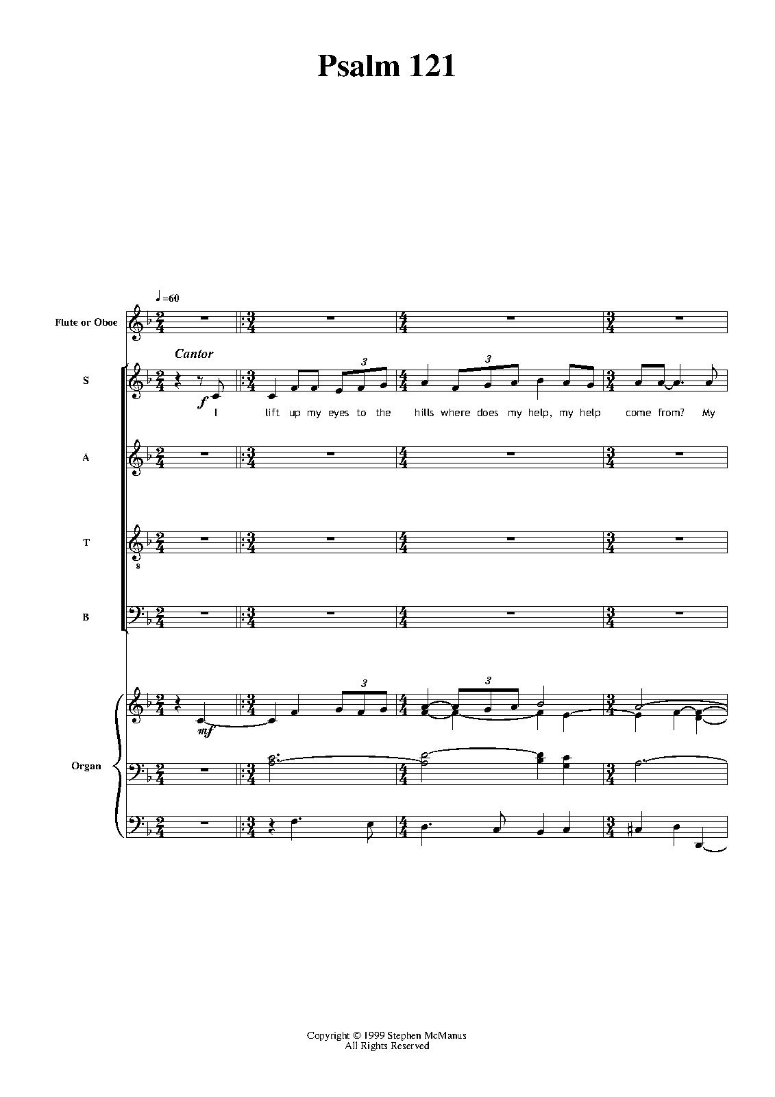 Psalm 121 (McManus, Stephen) - IMSLP/Petrucci Music Library: Free ...