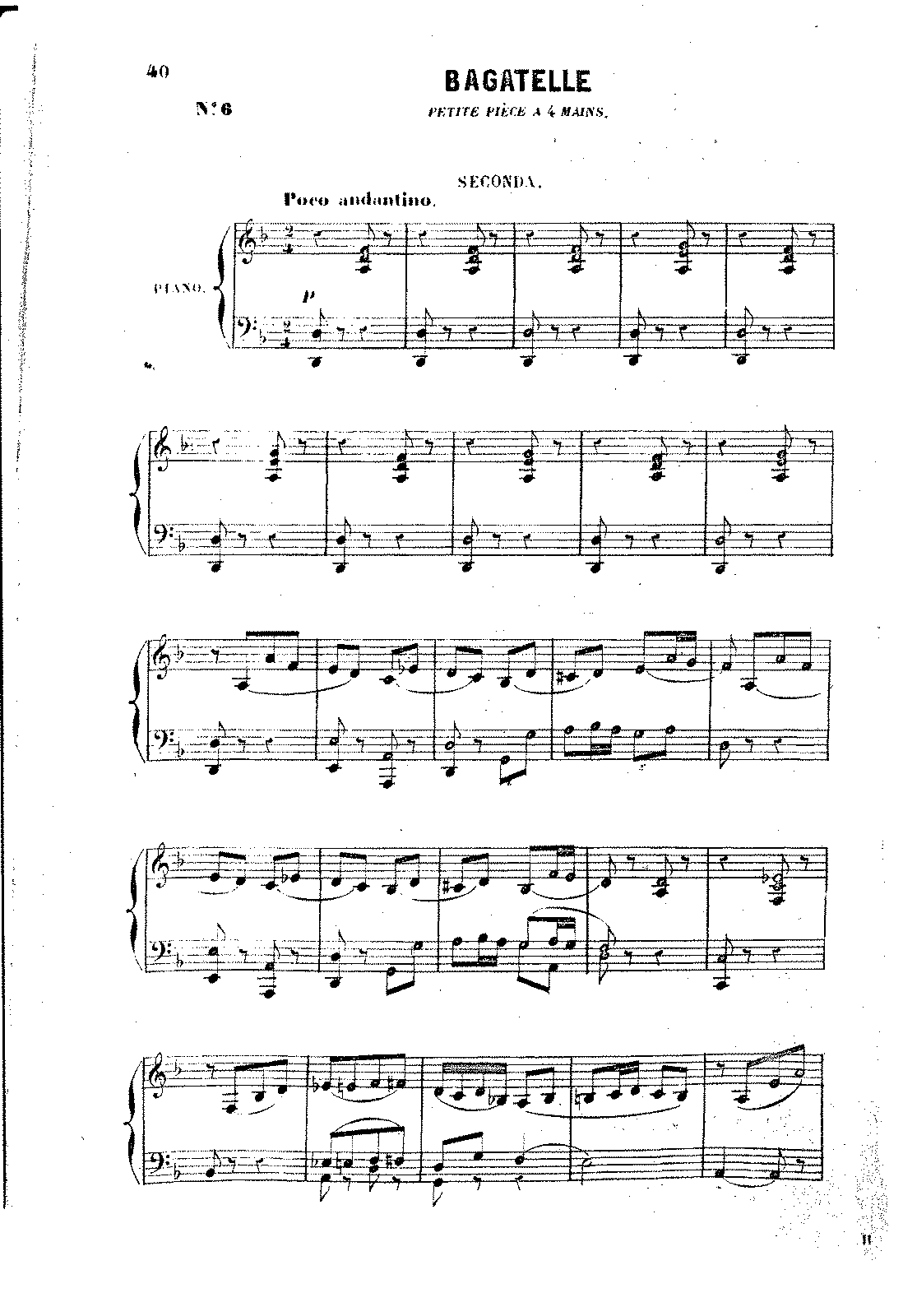 Edmond de Polignac - Bagatelle piano 4 hands.pdf