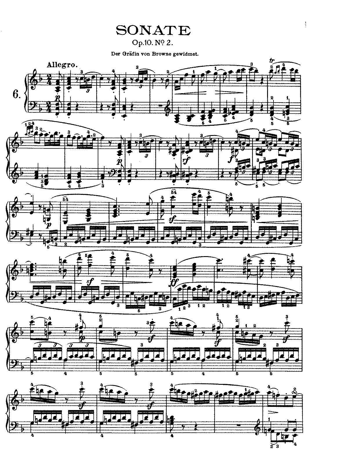 Tempest Sonata 3rd Movement