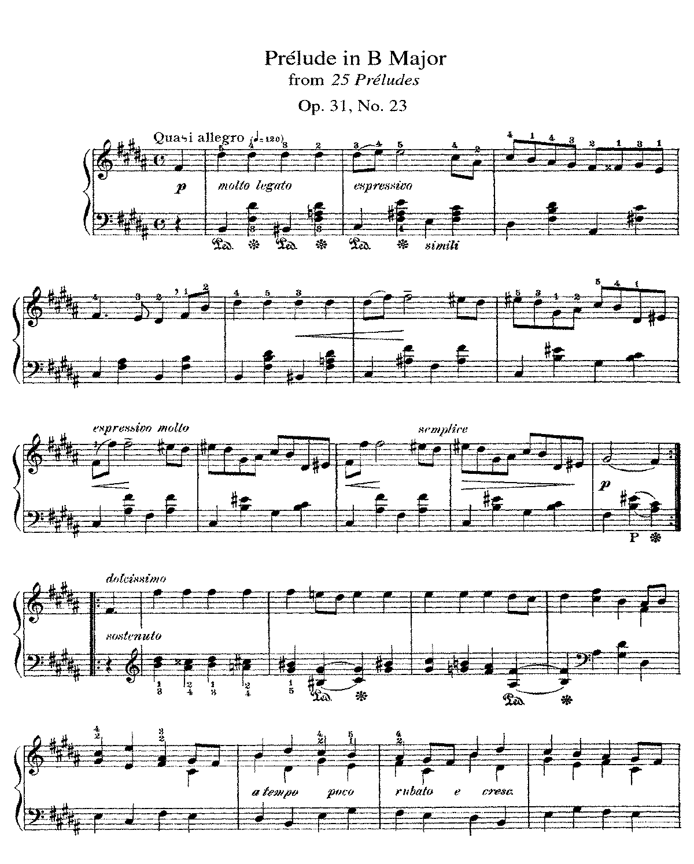 Free Sheet Music Public Domain: 25 Preludes, Op.31 (Alkan, Charles-Valentin)