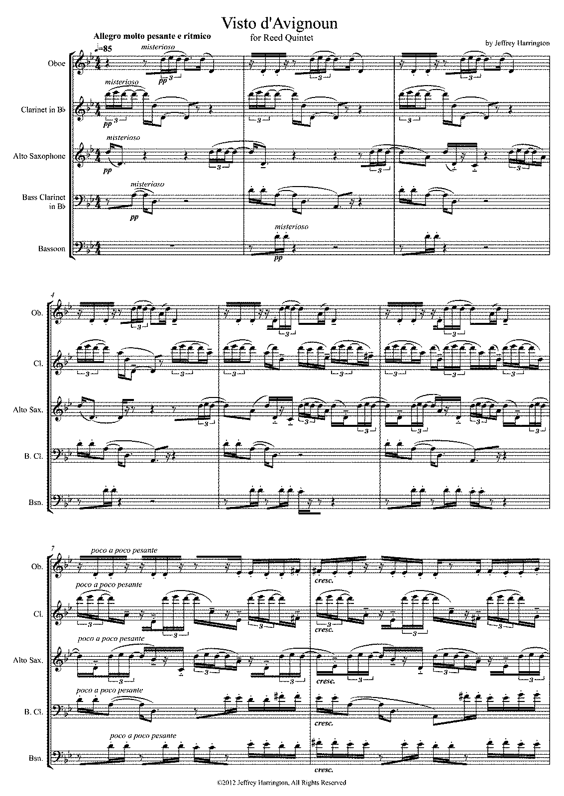 PMLP430007-Visto d'Avignoun - Jeffrey Harrington - Full Score.pdf