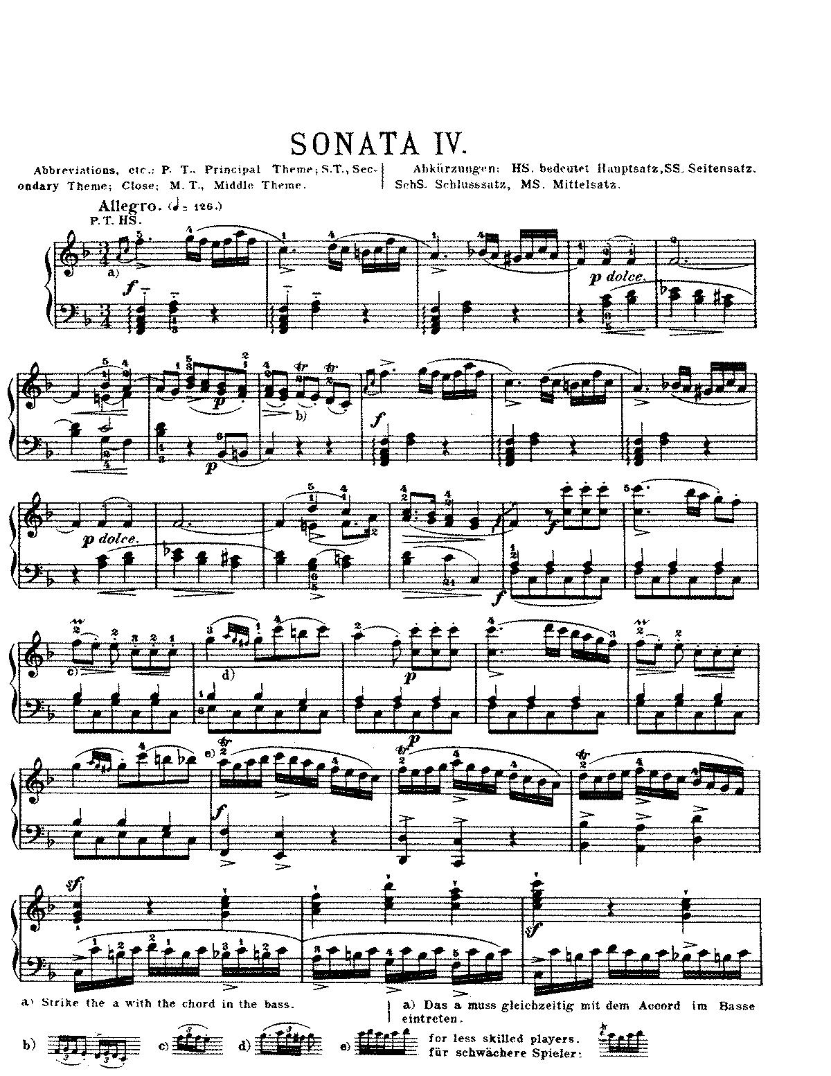 Piano sonata in f major kh135547a mozart wolfgang amadeus sheet music hexwebz Images