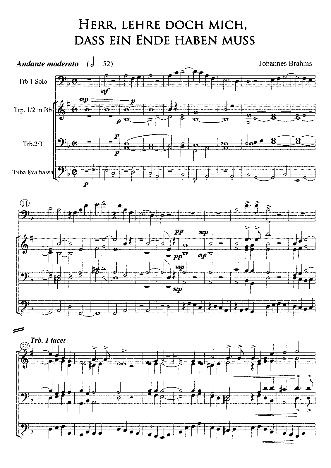 PMLP11297-Brahms Requiem 3 Herr Lehre doch mich Full Score and parts with Trp in Bb.pdf