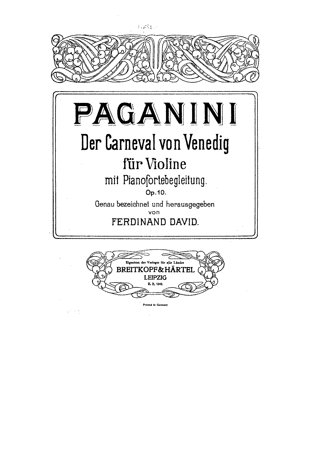 PMLP27296-Paganini - Der Carneval von Venedig for Violin and Piano Op10 (David) violin.pdf