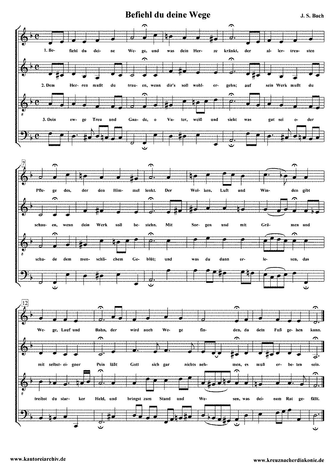 Chorale Harmonisations, BWV 1-438 (Bach, Johann Sebastian) - IMSLP ...