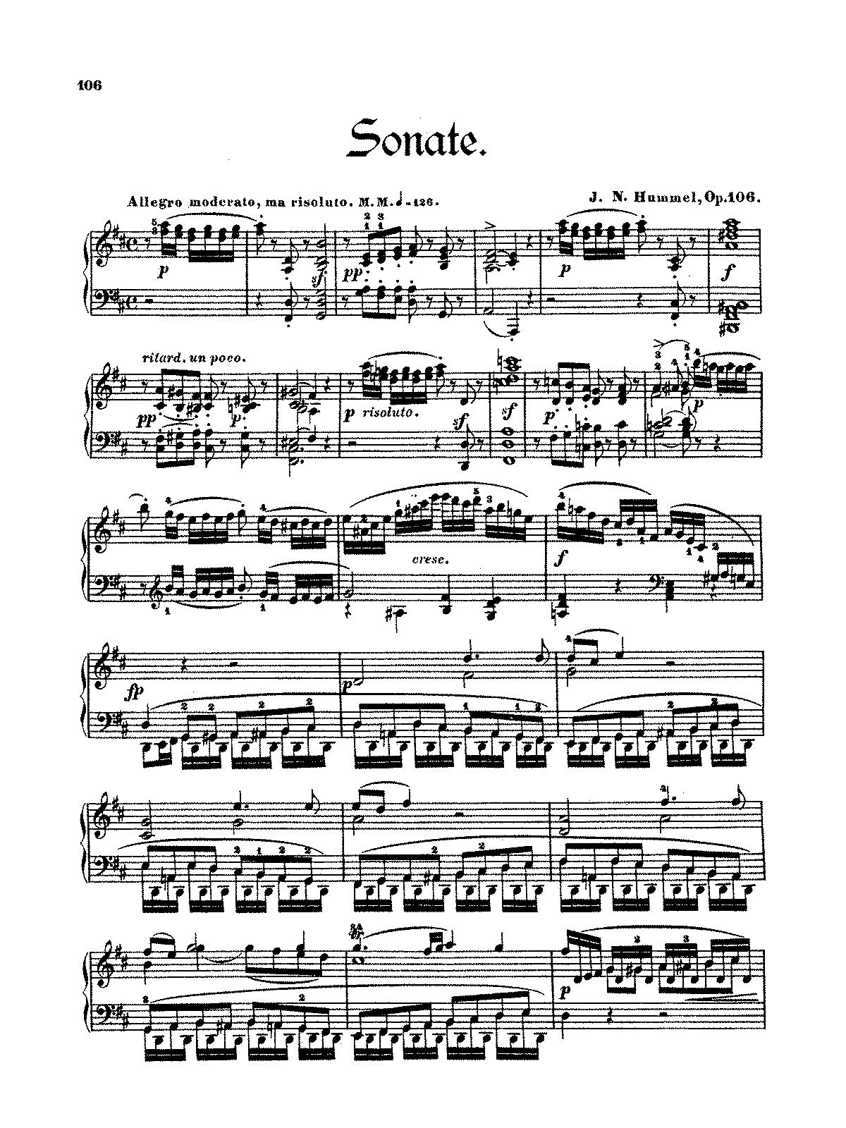 Hummel - Op.106 - Piano Sonata No.6 in D Major.pdf