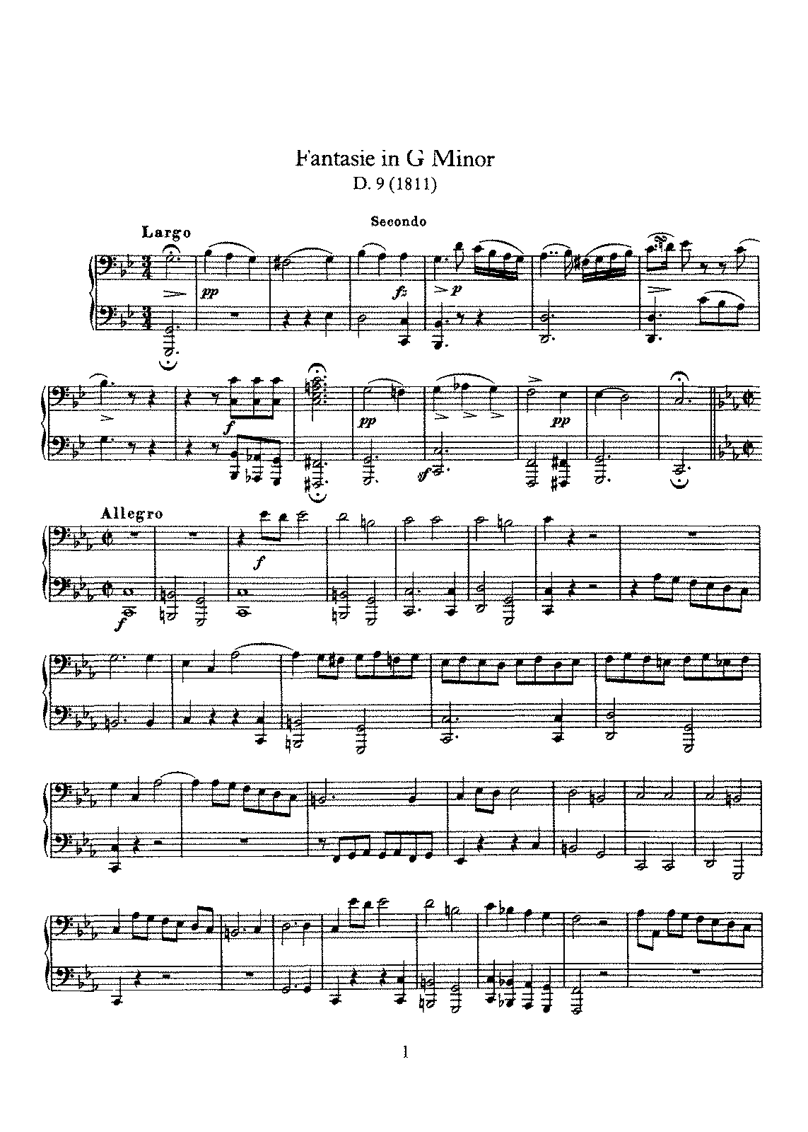 Schubert - D.9 - Fantasie in G minor.pdf