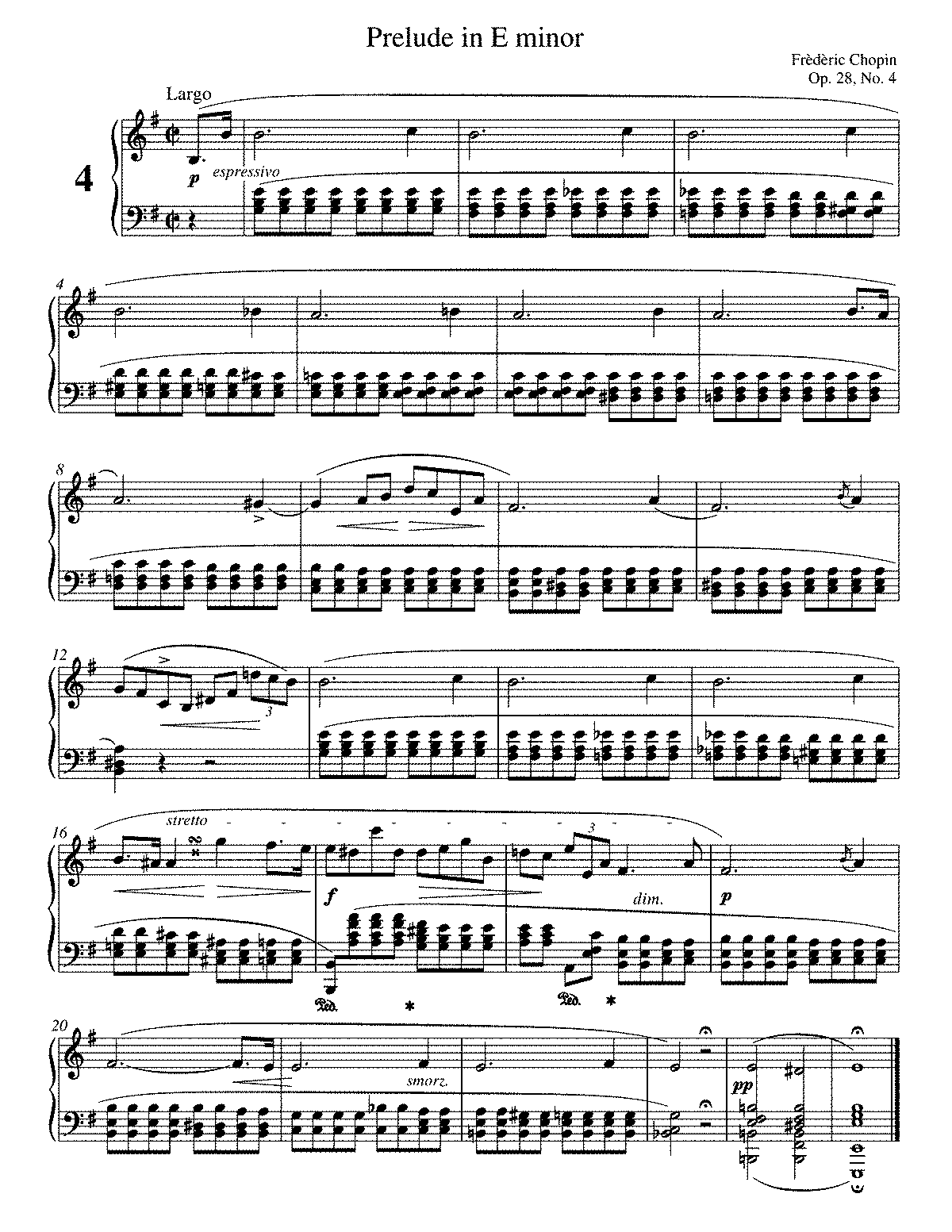 chopin prelude 15 2011-10-25  frederic chopin was one of the greatest piano composers in history fortunately for guitarists many of his pieces have been transcribed chopin did not confine himself to one key.