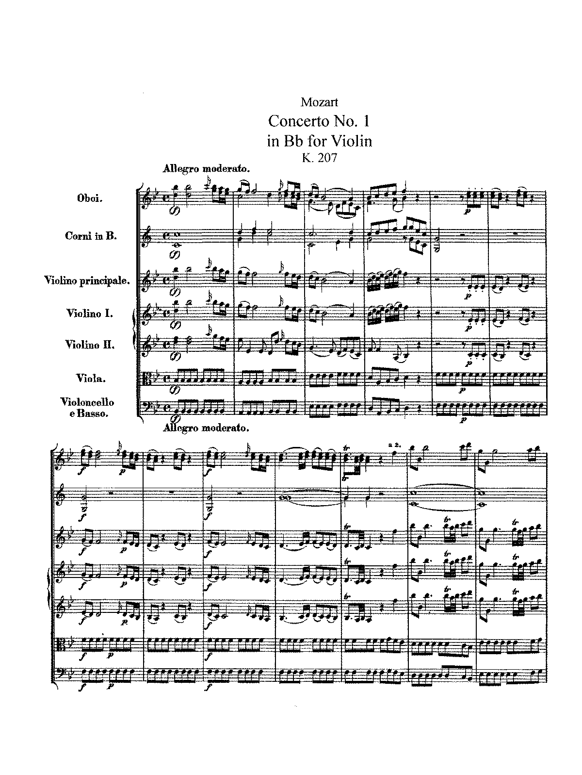 Mozart - Violin Concerto No.1 in Bb K.207.pdf
