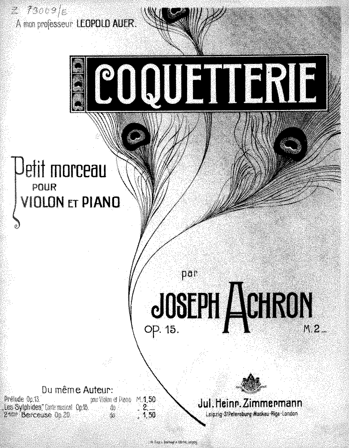 PMLP132425-Achron - Coquetterie for Violin and Piano Op15 parts.pdf