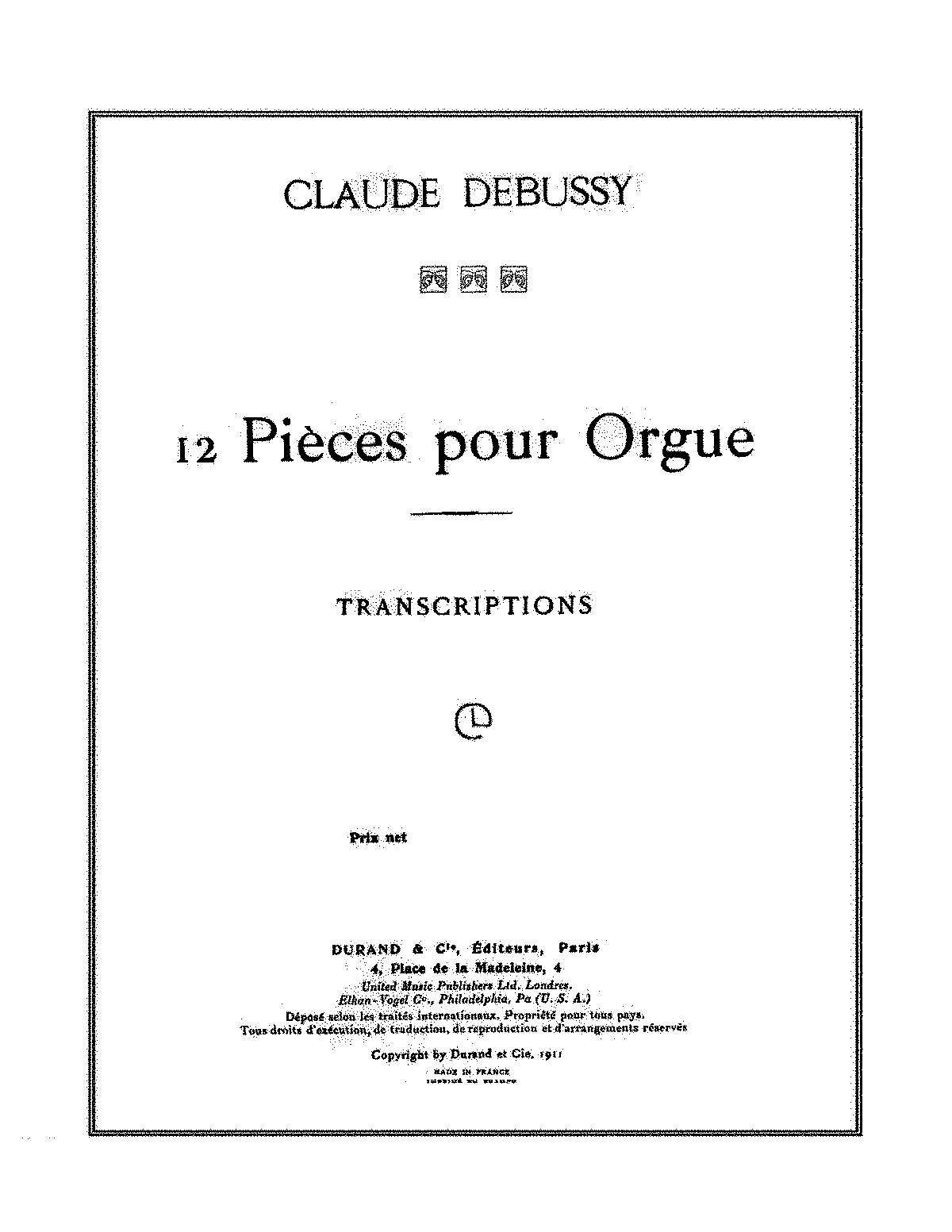 Debussy, Claude 12 pieces pour orgue(transcriptions).pdf