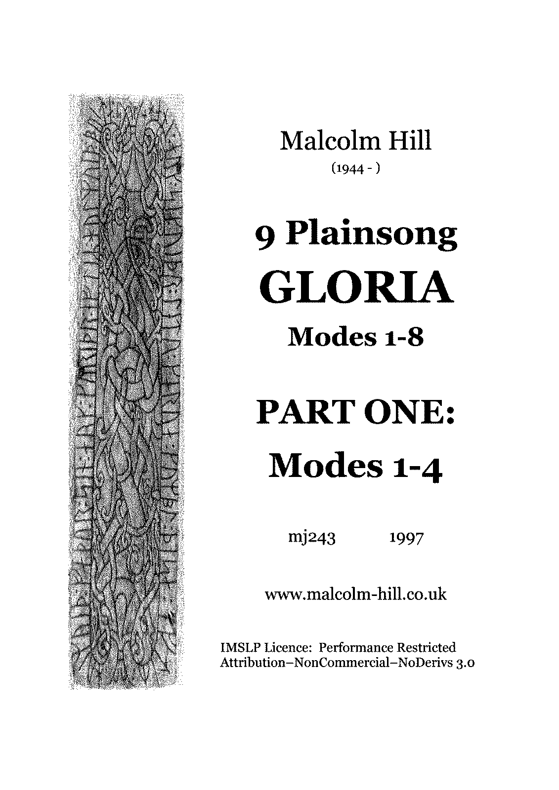 PMLP657714-9 Plainsong Gloria a Modes 1-4, mj243 (Hill, Malcolm).pdf