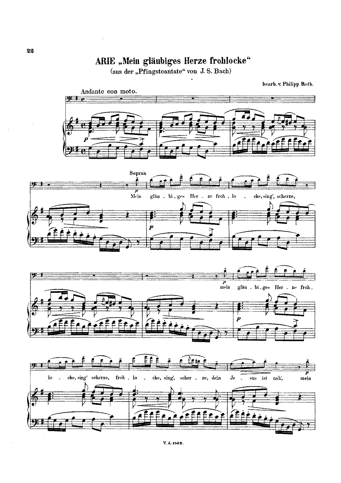 PMLP03821-Bach - Aria Mein glaubiges Herze frohlecke from Cantata BWV68 (Roth) Cello Piano score.pdf