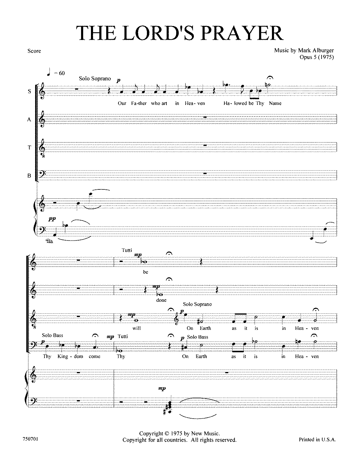 the lord u0027s prayer op 5 alburger mark imslp petrucci music