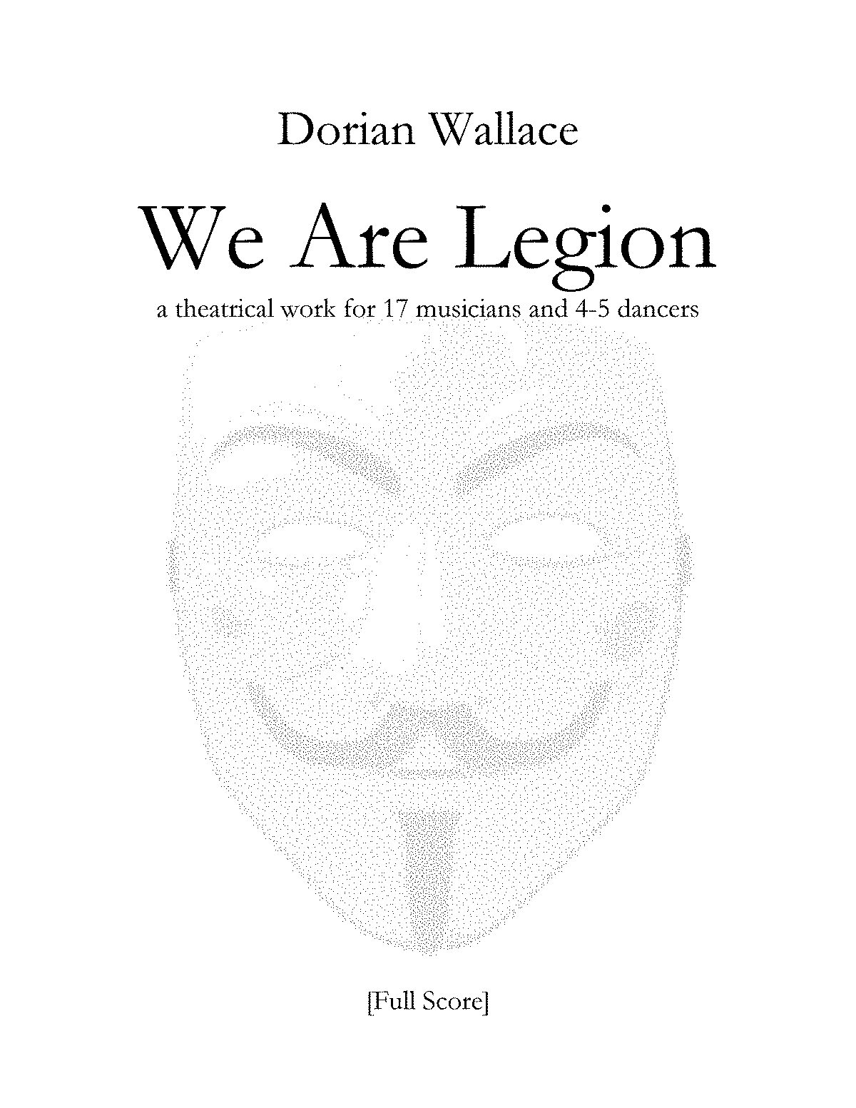 PMLP689520-0. We Are Legion -FULL SCORE- by Dorian Wallace.pdf