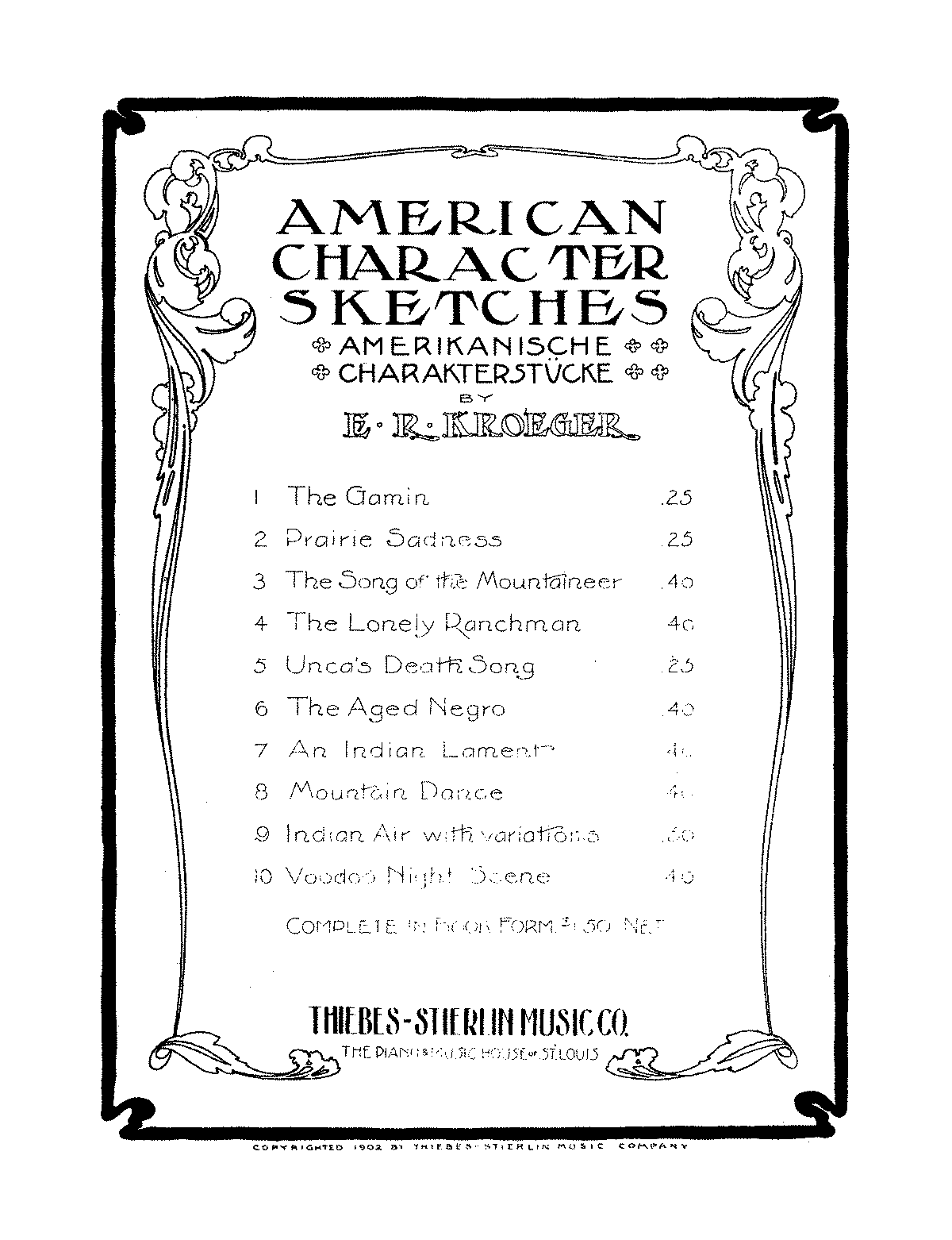 PMLP677640-ERKroeger American Character Sketches, Op.53 No.7 An Indian Lament.pdf