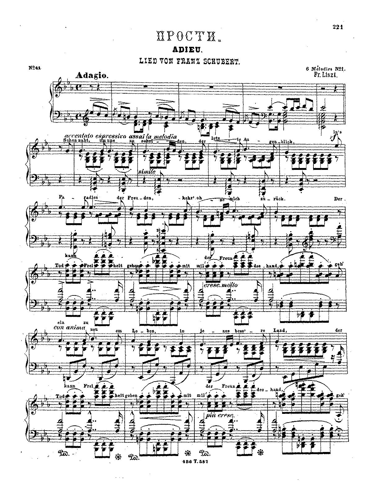 melodien von franz schubert s liszt franz imslp 3