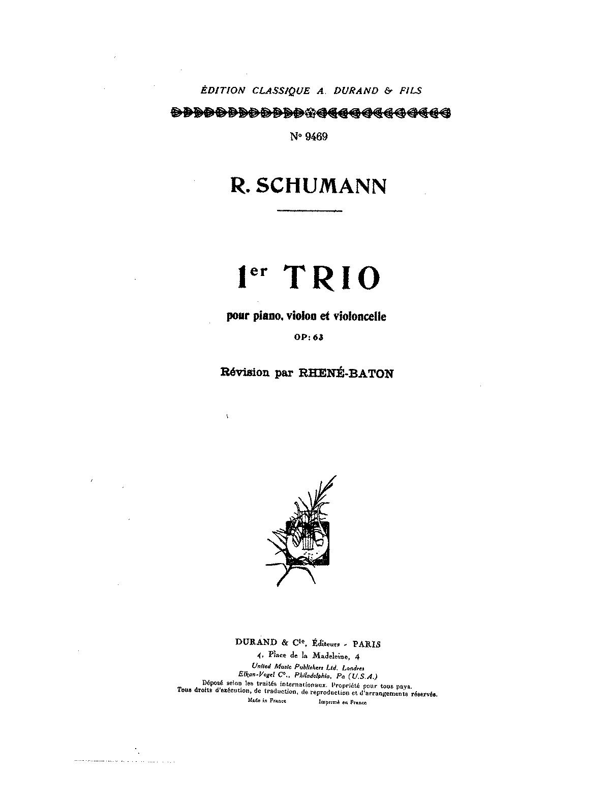 Piano trio no1 op63 schumann robert imslppetrucci music piano trio no1 op63 schumann robert imslppetrucci music library free public domain sheet music hexwebz Images