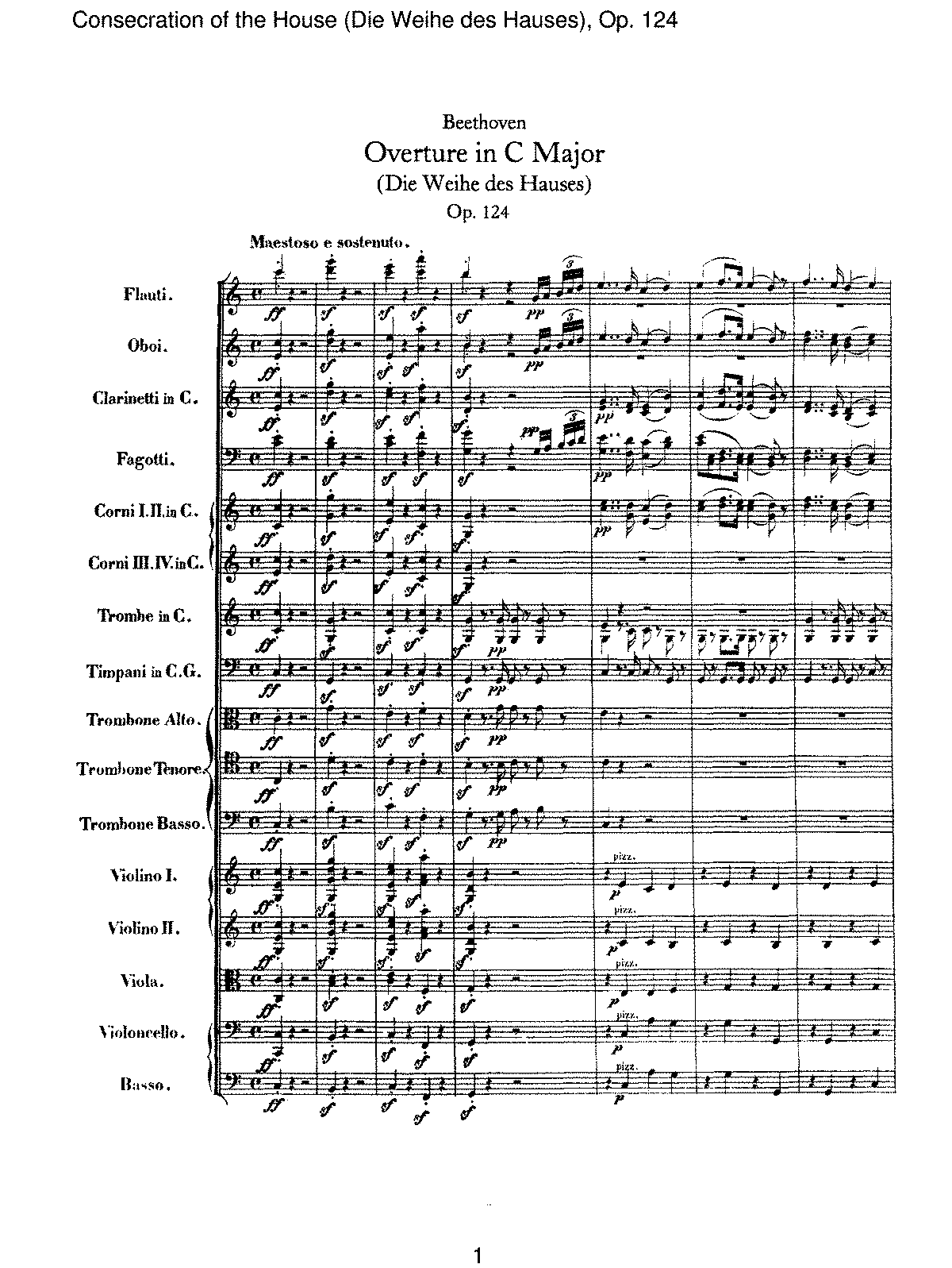 Beethoven - Consecration of the House (Die Weihe des Hauses), Op 124.pdf