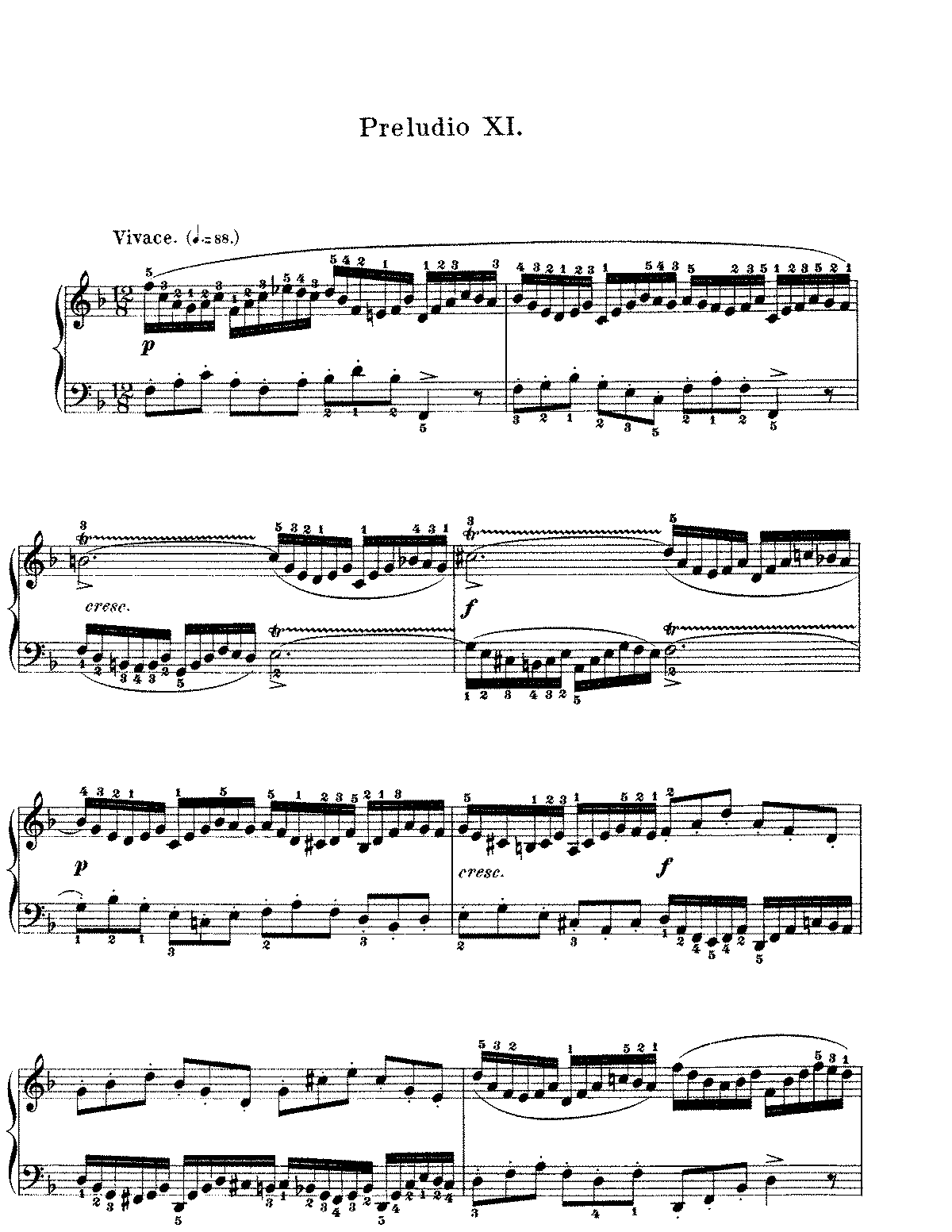 an analytical discussion on bach's prelude Discussion of rhetorical meaning fugue in this fugue bach interrupted counterpoint that he had earlier quoted in the bm prelude and fugue of.
