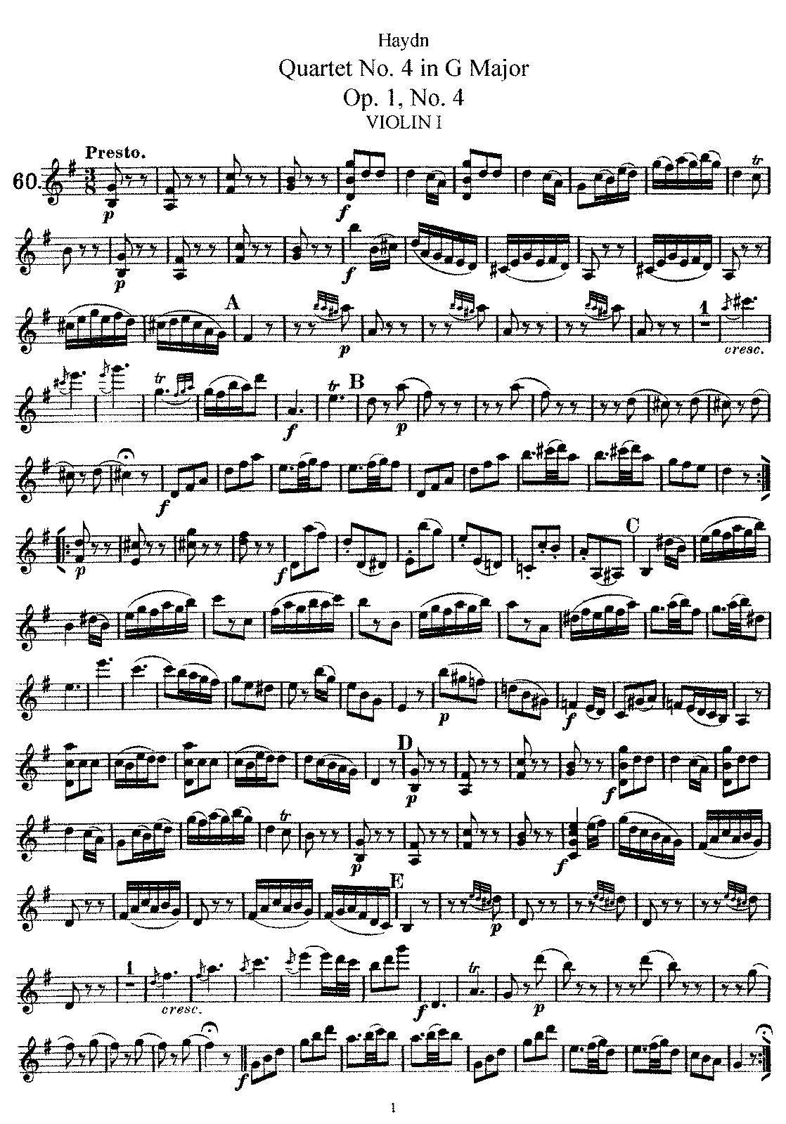 PMLP143602-Haydn - String Quartet No4 in GM Op1 No4 Violin1.pdf