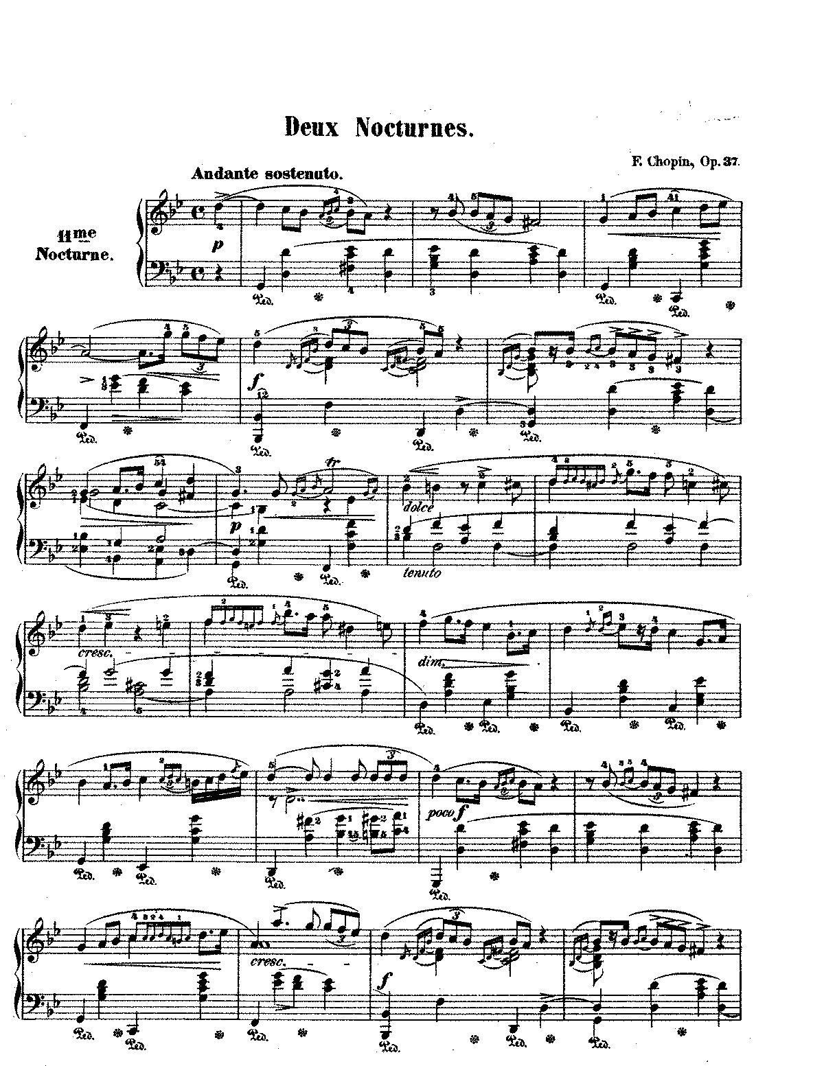 nocturne op 9 no 1 sheet music pdf