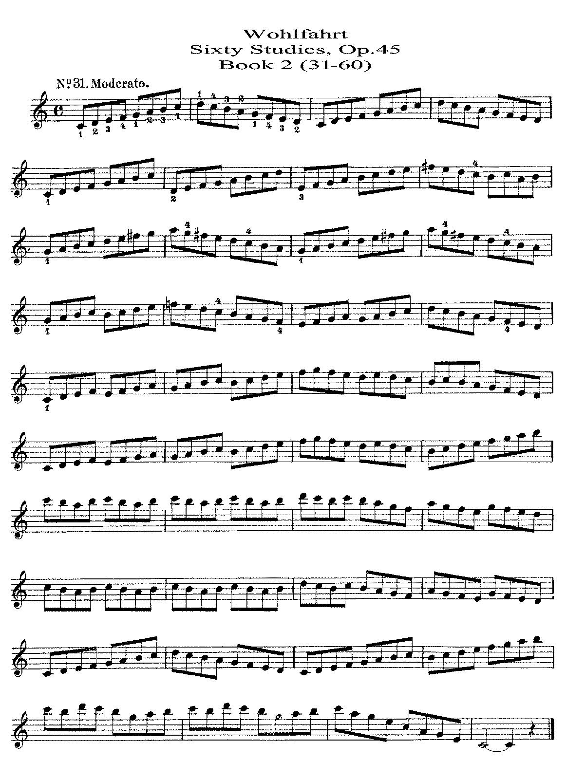 Suzuki Violin Etude Words