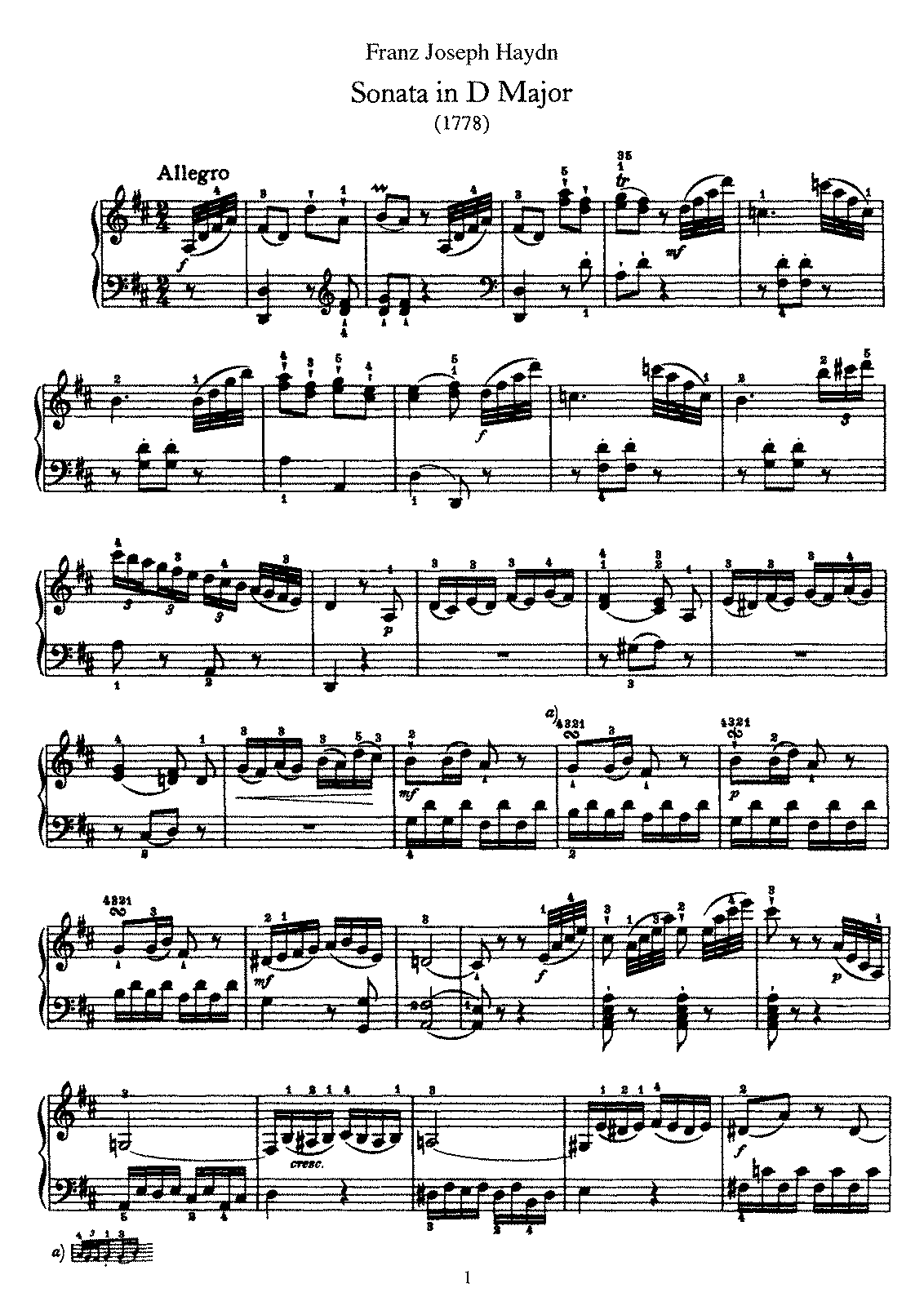 Haydn - Piano Sonata No 33 in D.pdf
