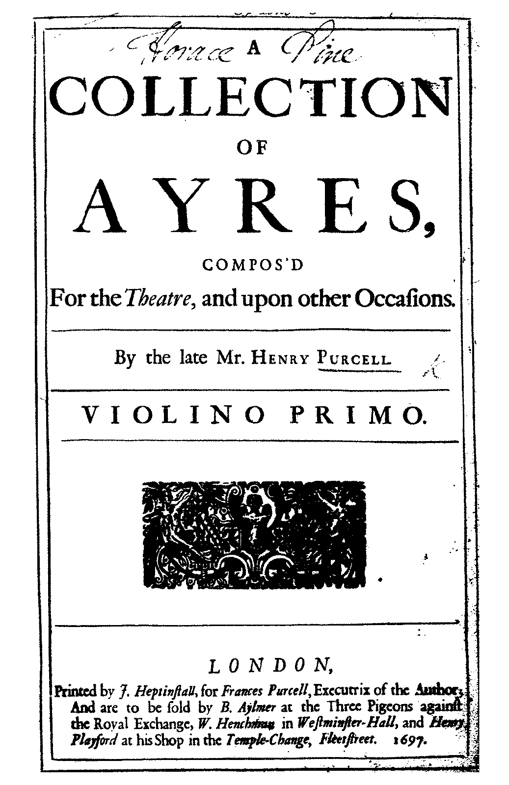 PMLP457775-Purcell - A Collection of Ayres (Violino Primo).pdf