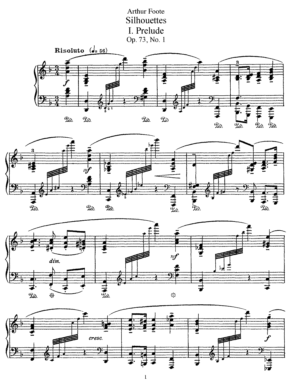 Foote - Op.73 - 5 Silhouettes.pdf