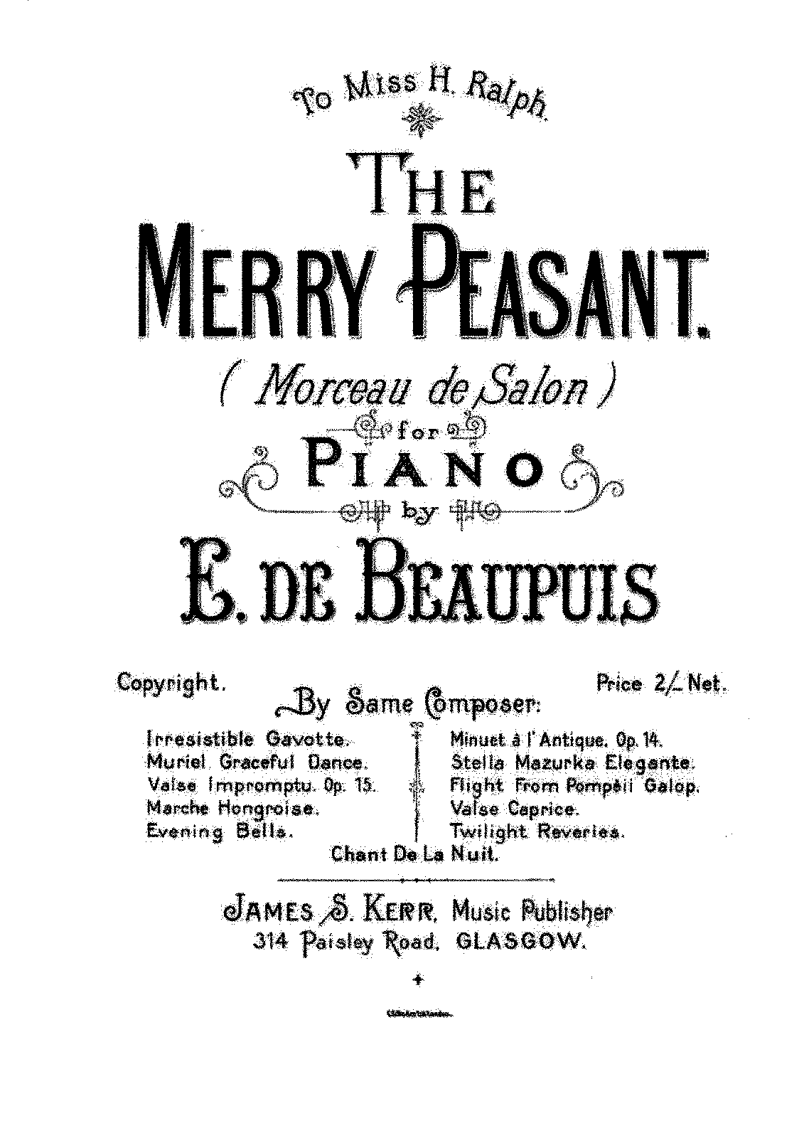 PMLP328795-Beaupuis, Emanuel de - Morceau de Salon - The Merry Peasant.pdf