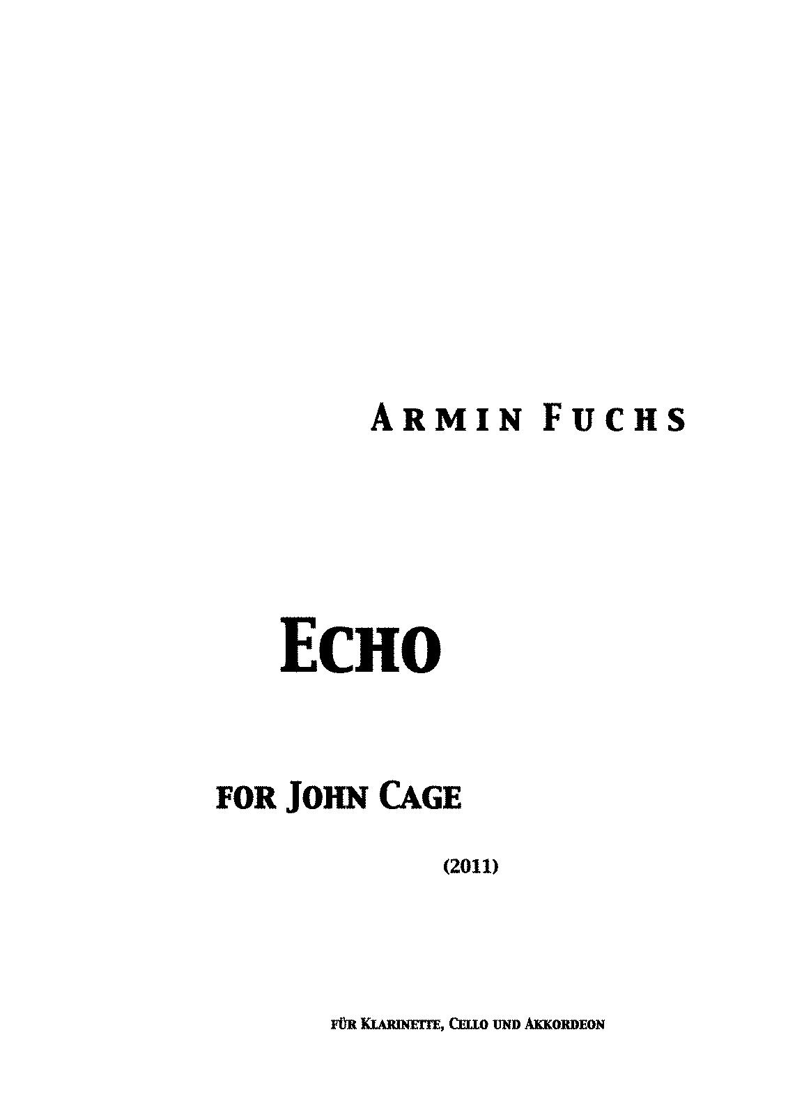 john cage dream