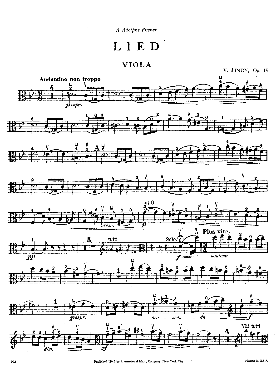 D'Indy - Lied for Viola and Piano, Op. 19.pdf
