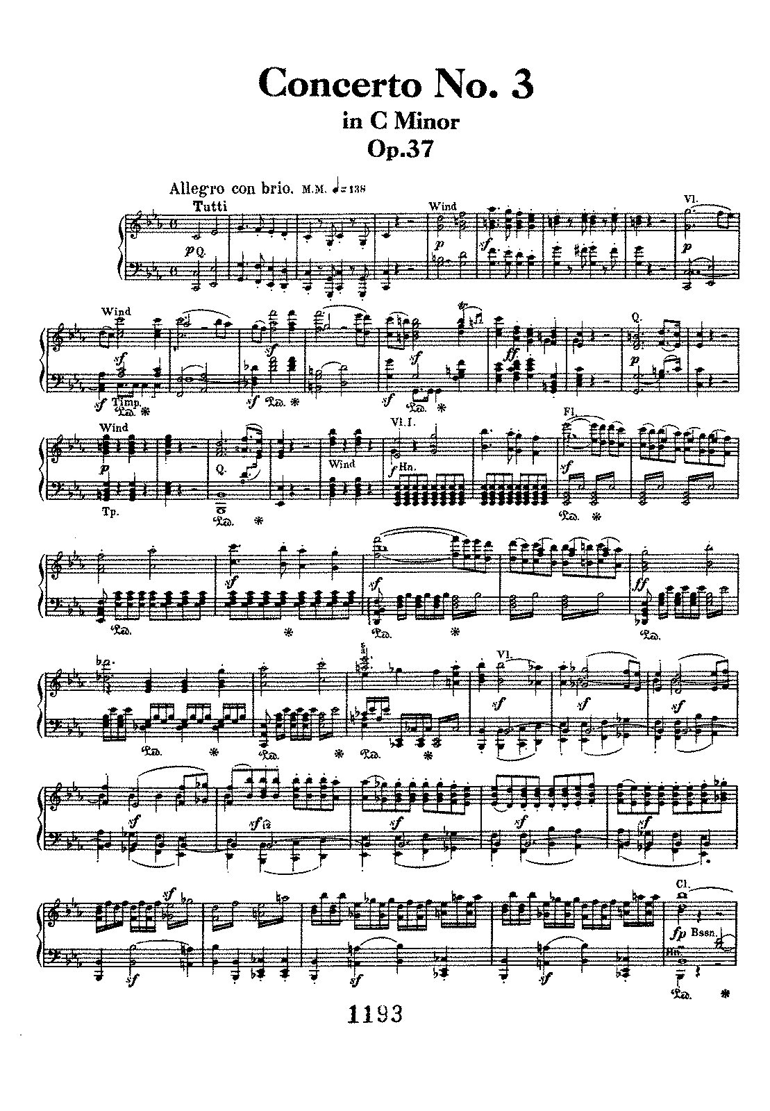 Beethoven - Op.37 - Piano Concerto No.3 (2 Pno Red.).pdf