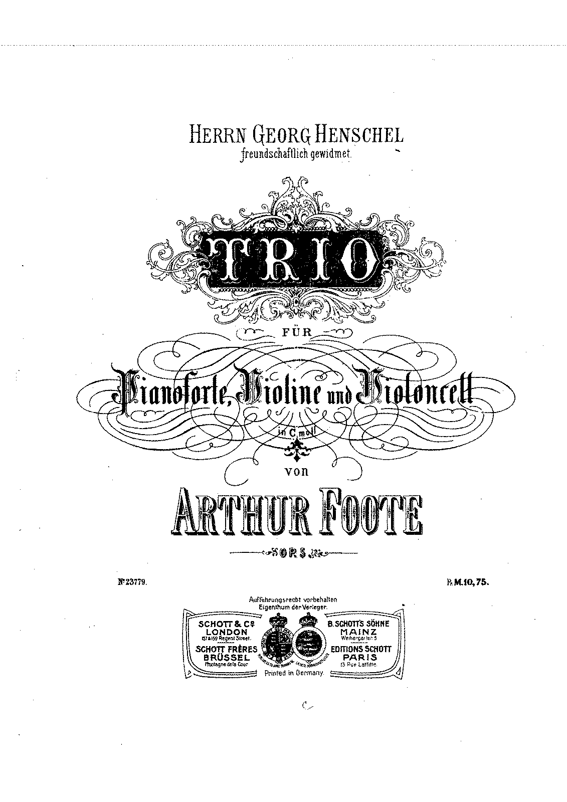 Foote op.05 Piano Trio No.1.pdf