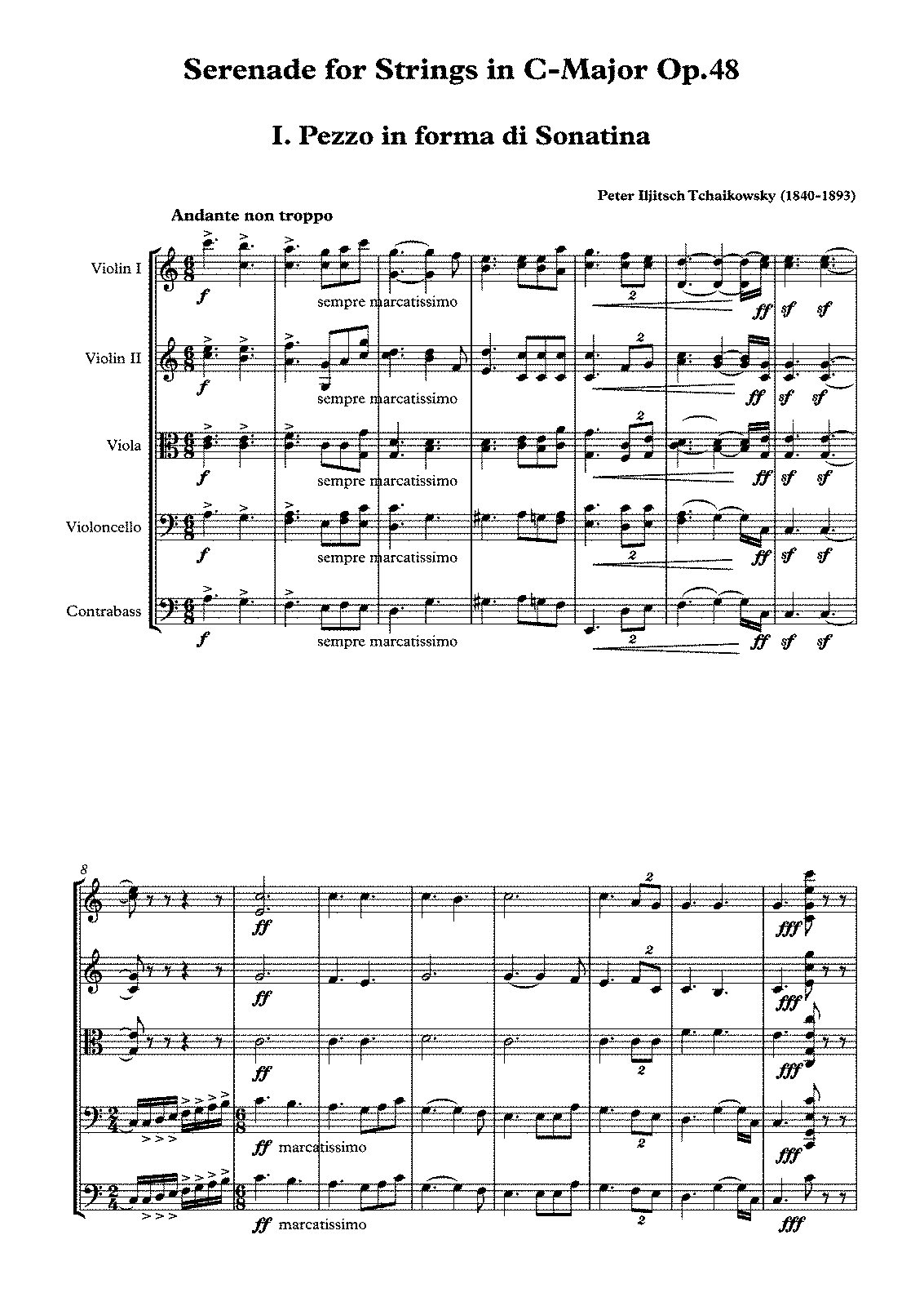 PMLP04623-Tchaikovsky-Serenade For Strings (1880) - score.pdf
