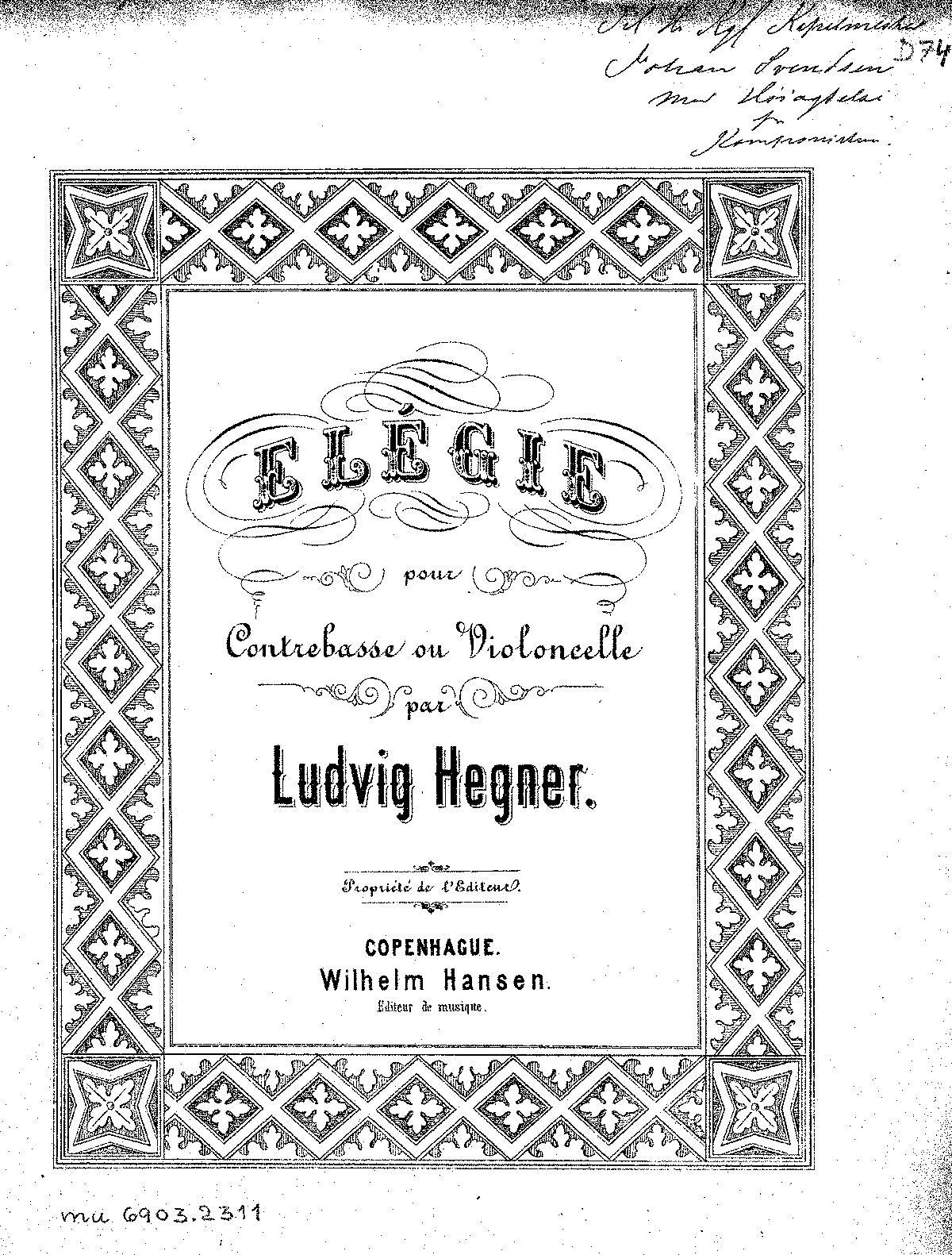 Hegner - Elégie (Contrebasse or Cello & Piano).pdf