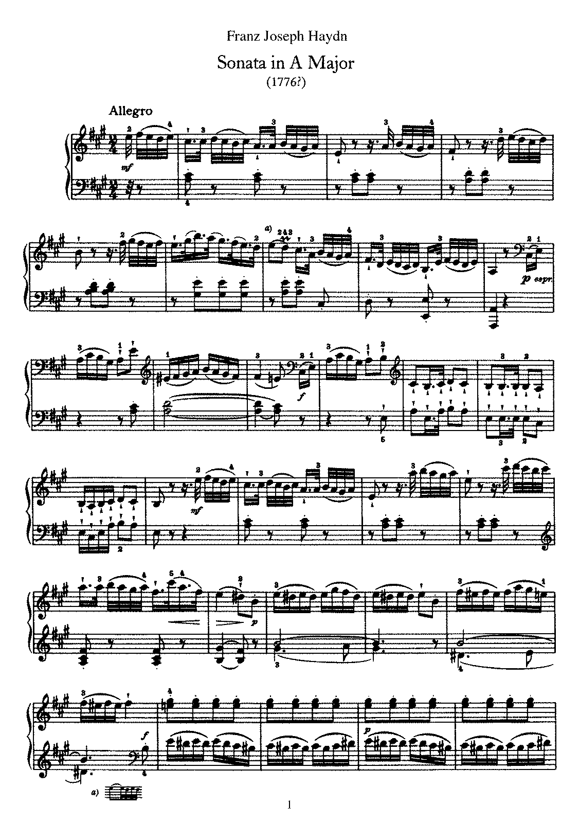 Haydn - Piano Sonata No 30 in A.pdf