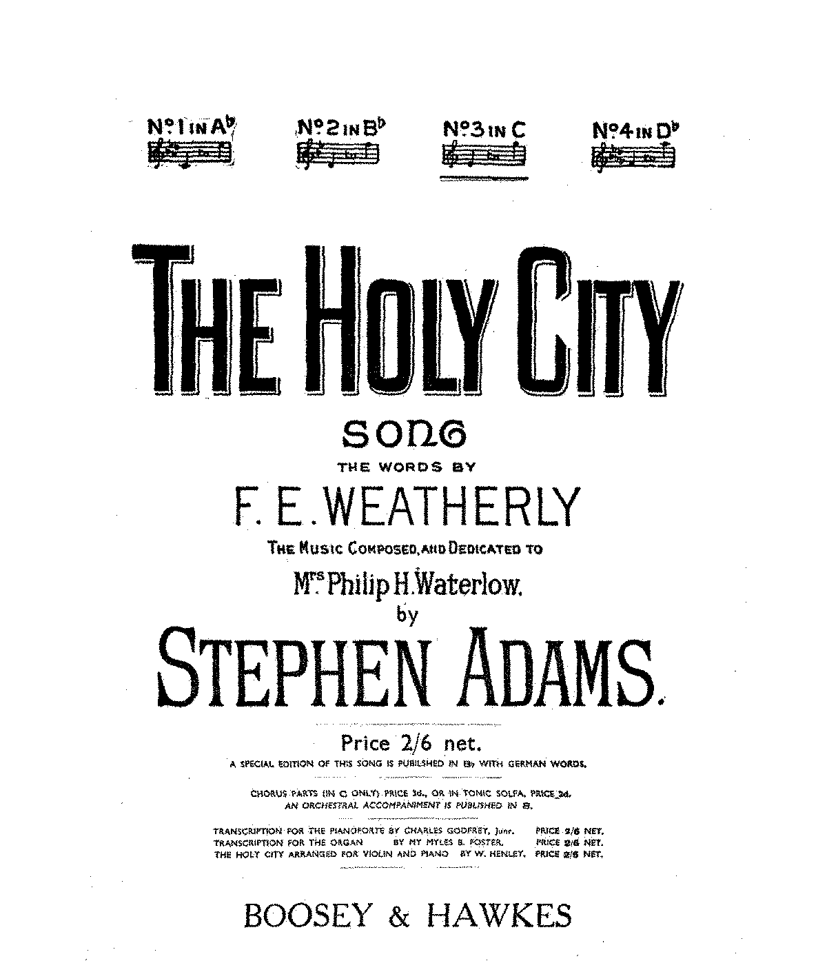 PMLP80538-STEPHEN ADAMS - Holy City.pdf