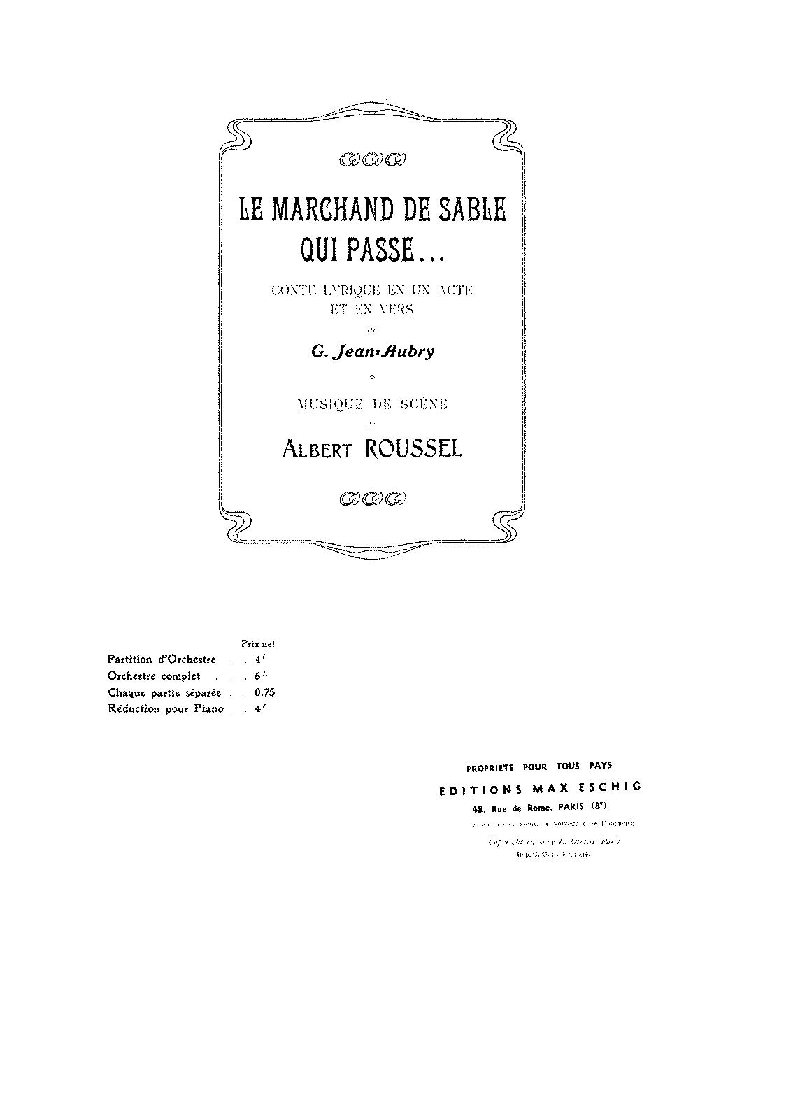 arrangements and transcriptions