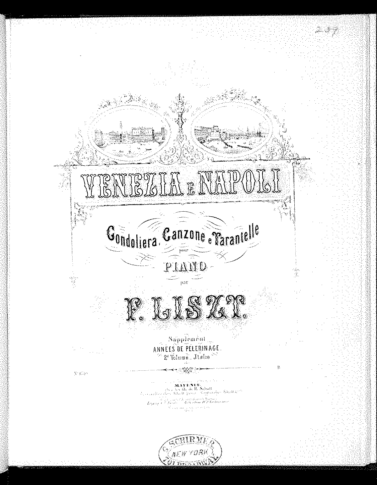 Liszt - S162 Annees de Pelerinage Supplement Venezia e Napoli (schott).pdf.pdf