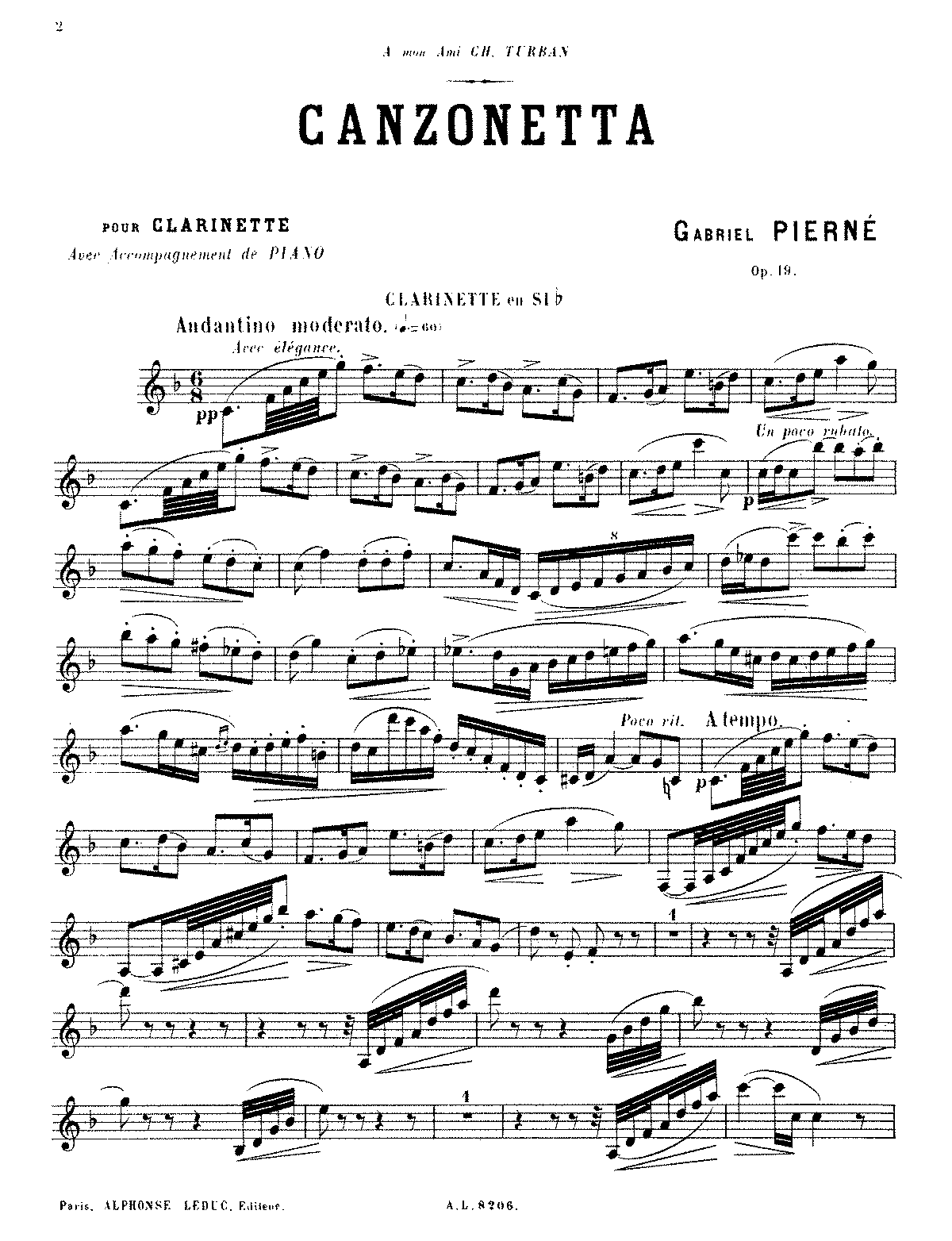 PMLP158977-Pierné - Canzonetta, Op. 19 (clarinet and piano).pdf