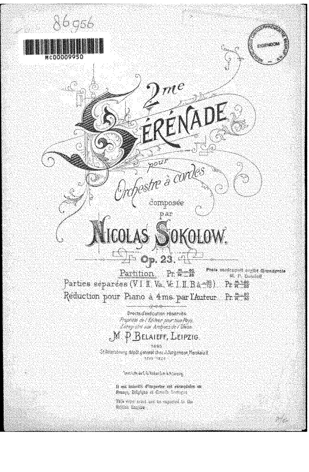 PMLP213023-Sokolov - 23 - Sérénade n.2 (score and parts).pdf