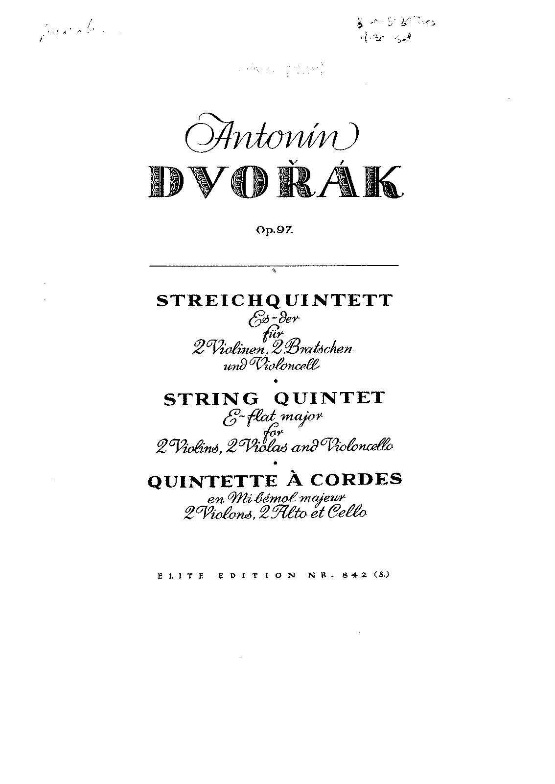 PMLP50835-Dvorak - String Quintet for 2 Violins 2 Violas and Cello Op97 in Eb Major violin1.pdf