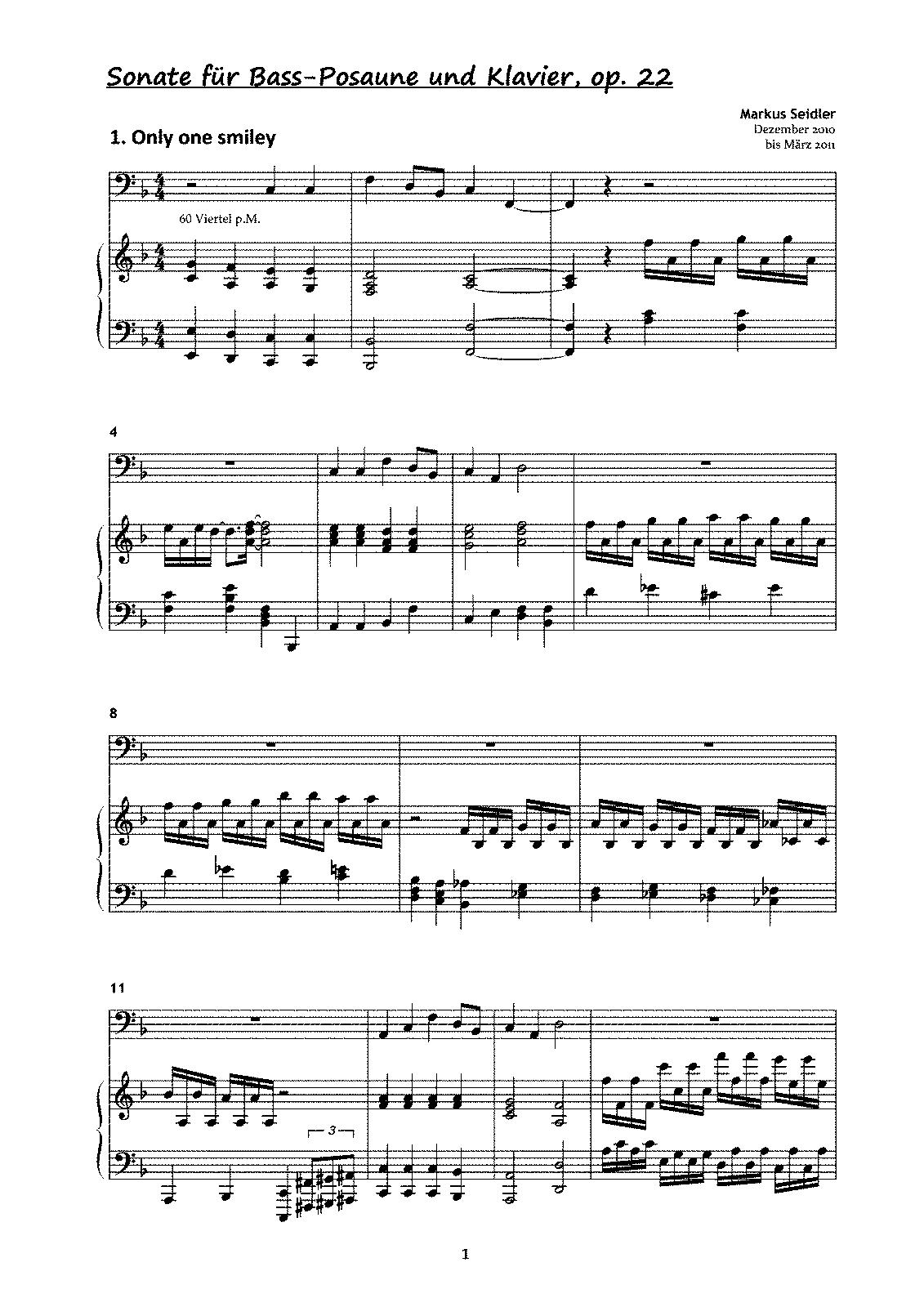 Mozart Trombone Concerto